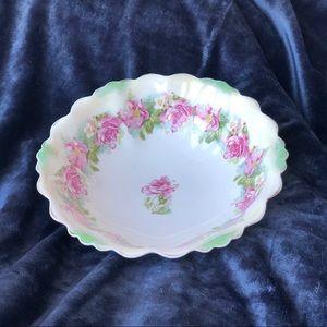 Vintage Austrian Scalloped Serving Bowl